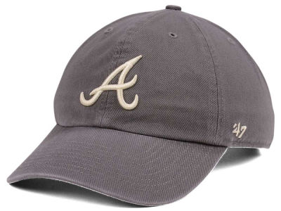 Atlanta Braves '47 MLB Dark Gray '47 CLEAN UP Cap