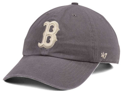 Boston Red Sox '47 MLB Dark Gray '47 CLEAN UP Cap