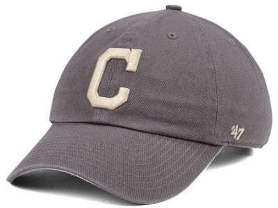 Cleveland Indians '47 MLB Dark Gray '47 CLEAN UP Cap