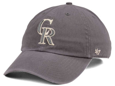Colorado Rockies '47 MLB Dark Gray '47 CLEAN UP Cap
