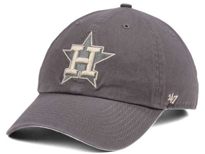 Houston Astros '47 MLB Dark Gray '47 CLEAN UP Cap