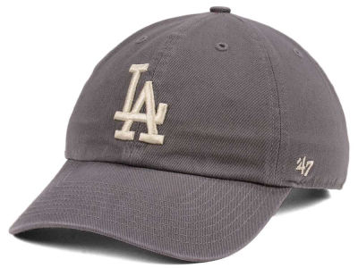 Los Angeles Dodgers '47 MLB Dark Gray '47 CLEAN UP Cap