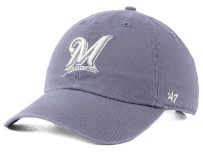 Milwaukee Brewers '47 MLB Dark Gray '47 CLEAN UP Cap