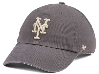 New York Mets '47 MLB Dark Gray '47 CLEAN UP Cap