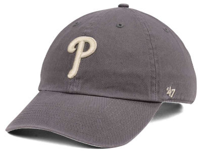 Philadelphia Phillies MLB Dark Gray '47 CLEAN UP Cap
