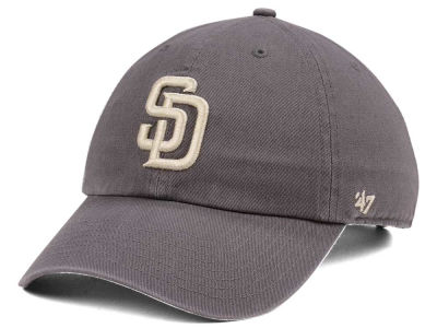 San Diego Padres '47 MLB Dark Gray '47 CLEAN UP Cap