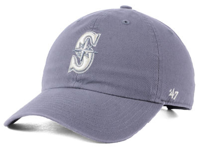 Seattle Mariners '47 MLB Dark Gray '47 CLEAN UP Cap