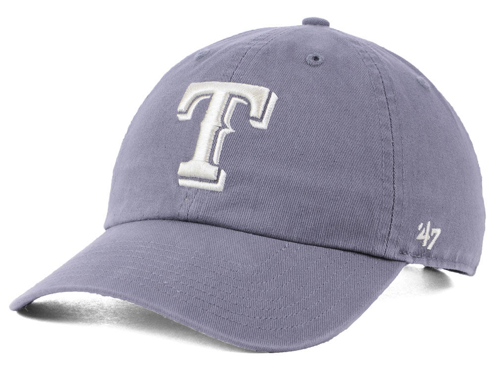 competitive price 89522 f1110 ... closeout texas rangers 47 mlb dark gray 47 clean up cap 7d743 c7946