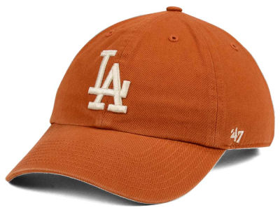 Los Angeles Dodgers '47 MLB Rust CLEAN UP Cap