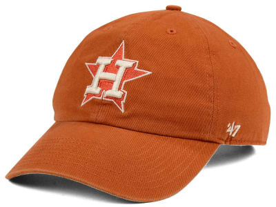 Houston Astros '47 MLB Rust CLEAN UP Cap