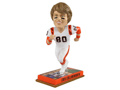 "Cincinnati Bengals Cris Collinsworth 8"" Retired Player Bobbleheads"