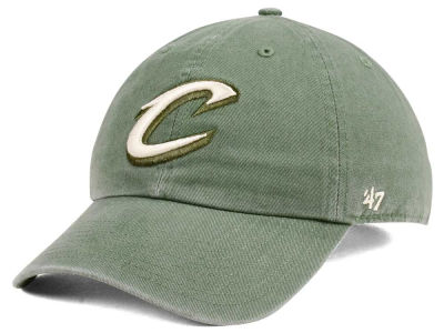 Cleveland Cavaliers '47 NBA Moss CLEAN UP Cap