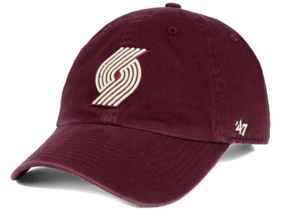 Portland Trail Blazers '47 NBA Moss CLEAN UP Cap