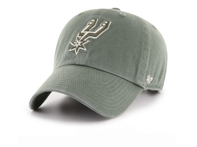 San Antonio Spurs '47 NBA Moss CLEAN UP Cap