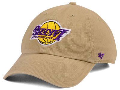 Los Angeles Lakers '47 NBA Invert CLEAN UP Cap