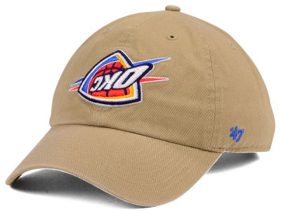 Oklahoma City Thunder '47 NBA Invert CLEAN UP Cap