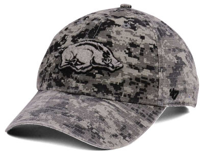 Arkansas Razorbacks '47 NCAA Operation Hat Trick Camo Nilan '47 CLEAN UP Cap