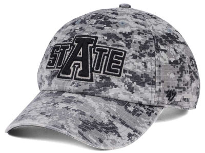 Arkansas State Red Wolves '47 NCAA Operation Hat Trick Camo Nilan '47 CLEAN UP Cap