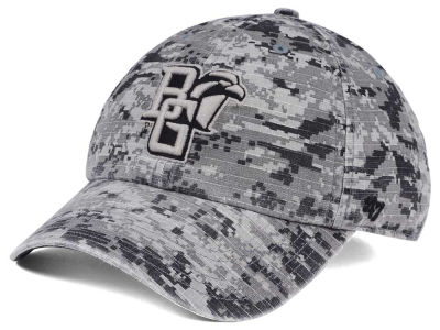 Bowling Green Falcons '47 NCAA Operation Hat Trick Camo Nilan '47 CLEAN UP Cap