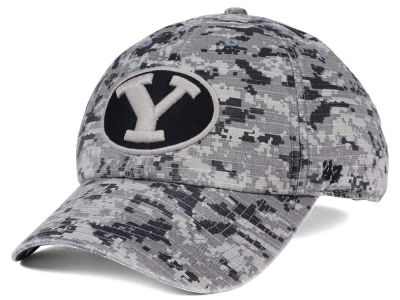 Brigham Young Cougars '47 NCAA Operation Hat Trick Camo Nilan '47 CLEAN UP Cap