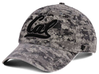 California Golden Bears '47 NCAA Operation Hat Trick Camo Nilan '47 CLEAN UP Cap