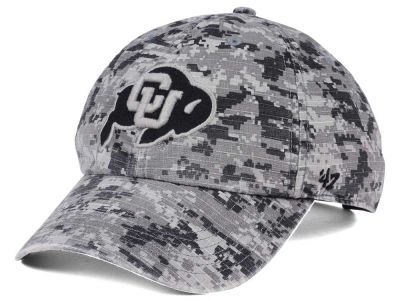 Colorado Buffaloes '47 NCAA Operation Hat Trick Camo Nilan '47 CLEAN UP Cap