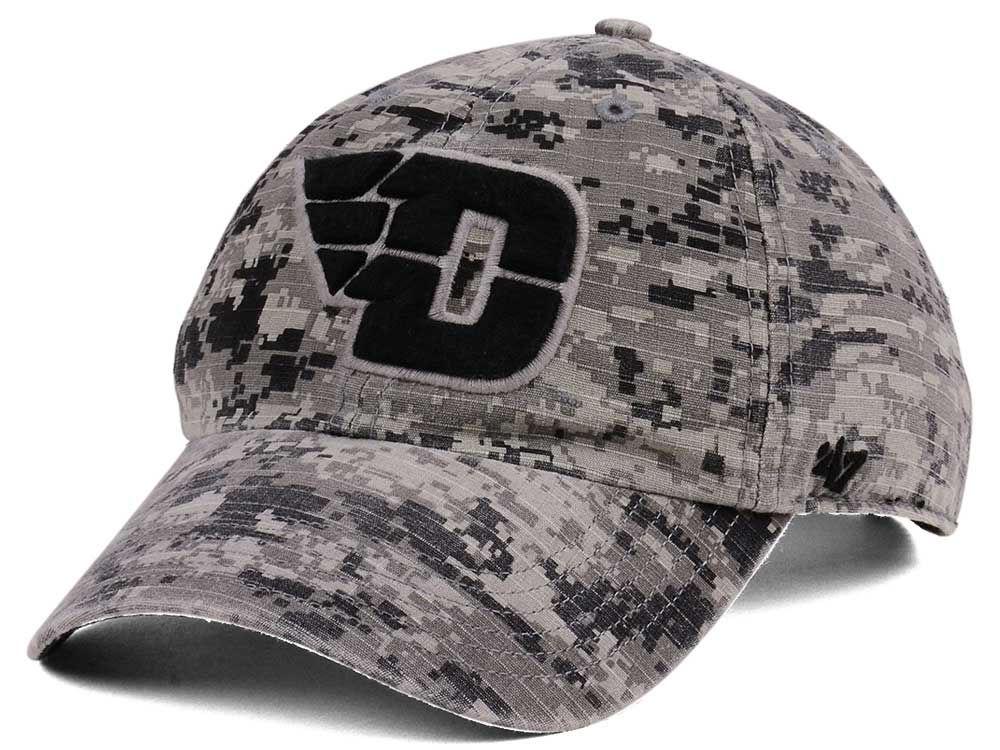 Dayton Flyers  47 NCAA Operation Hat Trick Camo Nilan  47 CLEAN UP Cap  9b476309db8