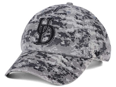 Delaware Blue Hens '47 NCAA Operation Hat Trick Camo Nilan '47 CLEAN UP Cap