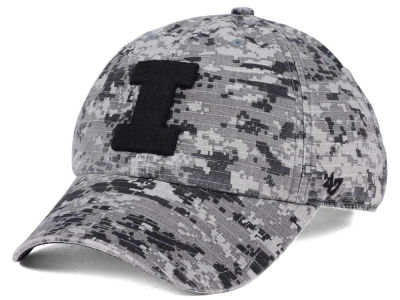 Illinois Fighting Illini '47 NCAA Operation Hat Trick Camo Nilan '47 CLEAN UP Cap