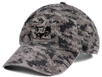 Kansas Jayhawks '47 NCAA Operation Hat Trick Camo Nilan '47 CLEAN UP Cap