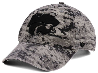 Kansas State Wildcats '47 NCAA Operation Hat Trick Camo Nilan '47 CLEAN UP Cap