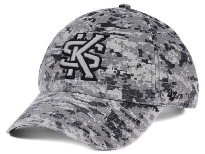 Kennesaw State Owls '47 NCAA Operation Hat Trick Camo Nilan '47 CLEAN UP Cap