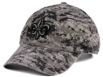 Louisiana Ragin' Cajuns '47 NCAA Operation Hat Trick Camo Nilan '47 CLEAN UP Cap