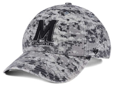 Maryland Terrapins '47 NCAA Operation Hat Trick Camo Nilan '47 CLEAN UP Cap