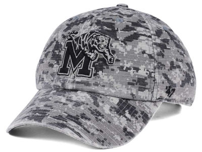 Memphis Tigers '47 NCAA Operation Hat Trick Camo Nilan '47 CLEAN UP Cap