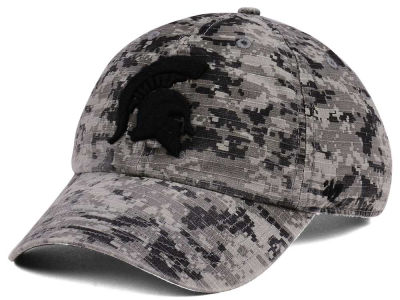 Michigan State Spartans '47 NCAA Operation Hat Trick Camo Nilan '47 CLEAN UP Cap