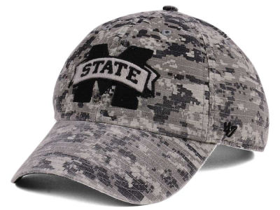 Mississippi State Bulldogs '47 NCAA Operation Hat Trick Camo Nilan '47 CLEAN UP Cap