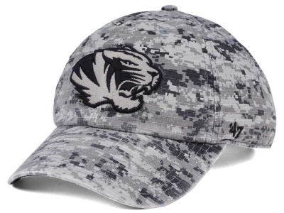 Missouri Tigers '47 NCAA Operation Hat Trick Camo Nilan '47 CLEAN UP Cap