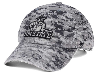 New Mexico State Aggies '47 NCAA Operation Hat Trick Camo Nilan '47 CLEAN UP Cap