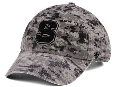 North Carolina State Wolfpack '47 NCAA Operation Hat Trick Camo Nilan '47 CLEAN UP Cap