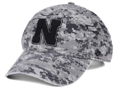 Nebraska Cornhuskers '47 NCAA Operation Hat Trick Camo Nilan '47 CLEAN UP Cap