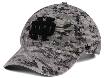 Notre Dame Fighting Irish '47 NCAA Operation Hat Trick Camo Nilan '47 CLEAN UP Cap