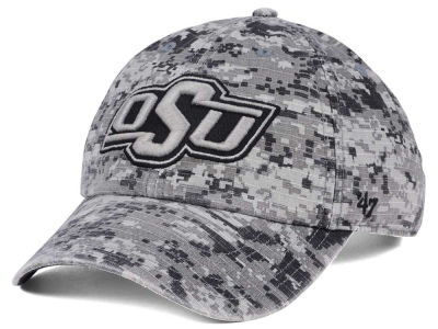 Oklahoma State Cowboys '47 NCAA Operation Hat Trick Camo Nilan '47 CLEAN UP Cap