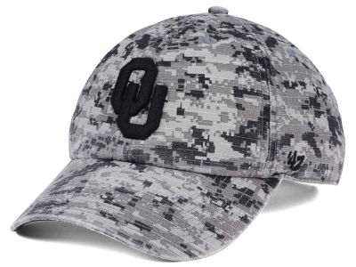 Oklahoma Sooners '47 NCAA Operation Hat Trick Camo Nilan '47 CLEAN UP Cap
