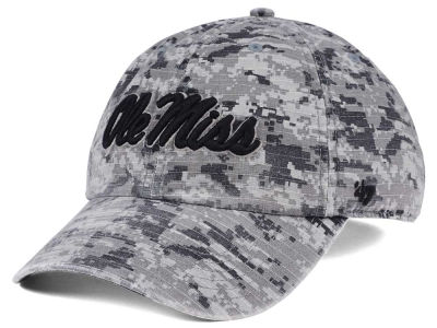 Ole Miss Rebels '47 NCAA Operation Hat Trick Camo Nilan '47 CLEAN UP Cap