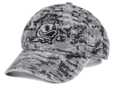 Oregon Ducks '47 NCAA Operation Hat Trick Camo Nilan '47 CLEAN UP Cap