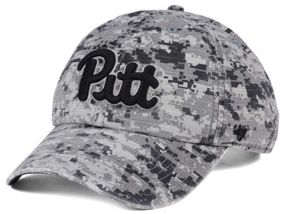 Pittsburgh Panthers '47 NCAA Operation Hat Trick Camo Nilan '47 CLEAN UP Cap