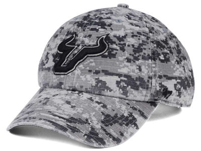 South Florida Bulls '47 NCAA Operation Hat Trick Camo Nilan '47 CLEAN UP Cap