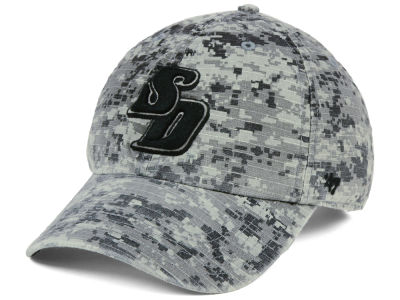San Diego Toreros '47 NCAA Operation Hat Trick Camo Nilan '47 CLEAN UP Cap