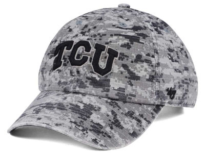 Texas Christian Horned Frogs '47 NCAA Operation Hat Trick Camo Nilan '47 CLEAN UP Cap